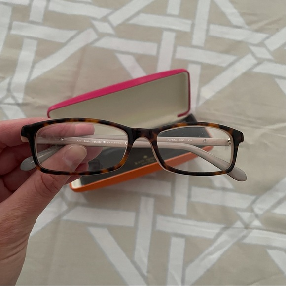 Kate Spade RX lenses and frames and case